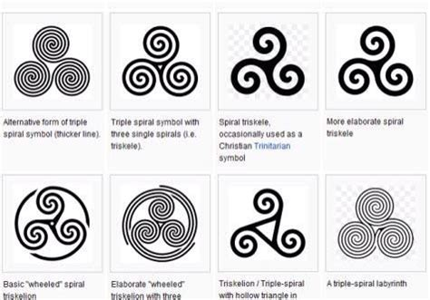 triple spiral tattoo designs 30 spiral designs