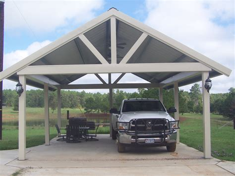 Custom Car Ports by Carports Lufkin Tx Gallups Custom Aluminum