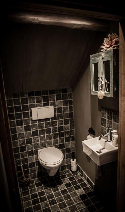 Spiegel Toilet Landelijk by Toilet In Landelijke Stijl Met Hoffz Hoffz