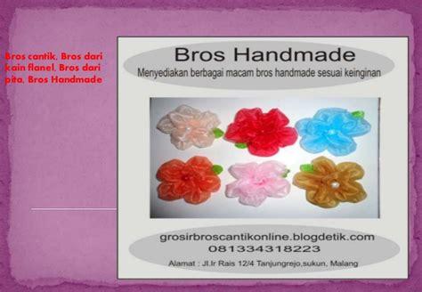 Bros Pita Bros Murah bros bunga bros handmade bros model cantik dari pita