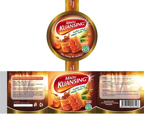 harga desain kemasan produk sribu desain label label untuk produk madu kemasan