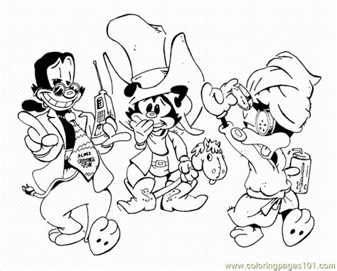animaniacs coloring pages coloring pages