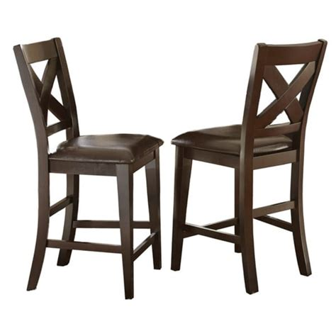 24 inch dining chairs copley 24 inch counter height x back chair by greyson