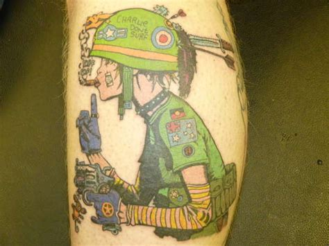 tank girl tattoo tank
