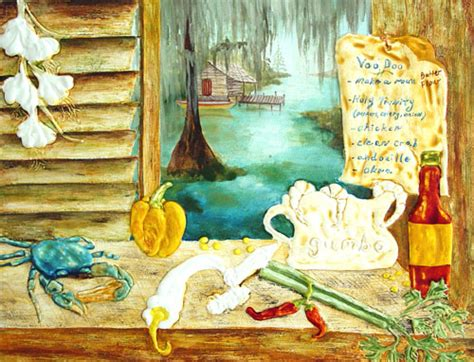 kitchen paintings louisiana kitchen southern art paintings new orleans art