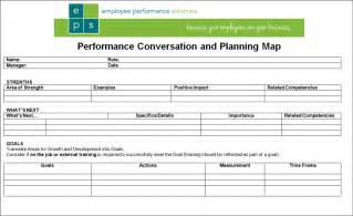 employee one on one template simple 1 page performance review form