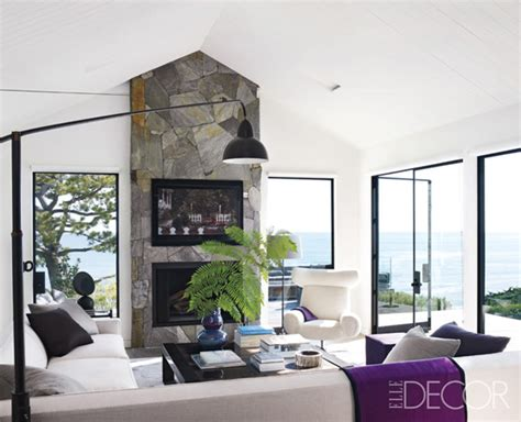 elle decor celebrity homes courteney cox s luxurious malibu home in elle decor