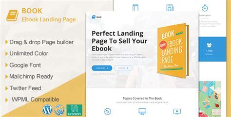 wordpress theme free landing book responsive ebook landing page wordpress theme by