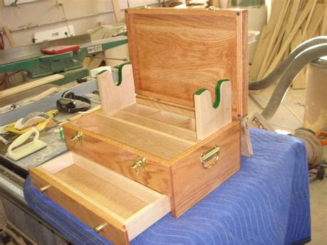 woodworking plans gun cleaning box wood craft projects