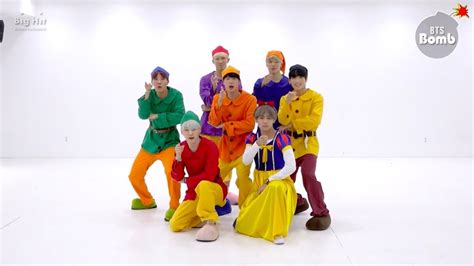 bts gogo dance watch bts transforms into snow white and six dwarfs for