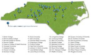 map of carolina universities college of the week polk goes to college