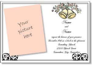 Free Wedding Announcement Maker by Wedding Invitation Maker Printable Wedding Invitation