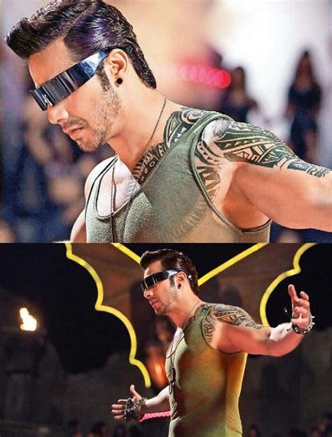 varun dhawan tattoo varun dhawan gets tattoos in the rock style photo