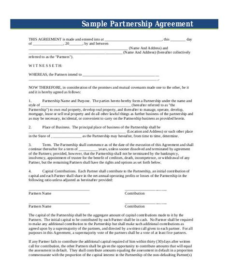 channel partner agreement template great channel partner agreement template pictures