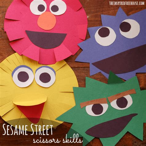 Construction Paper Crafts For Boys - simple sesame craft for the inspired treehouse