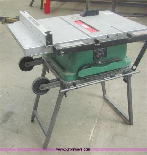 hitachi table saw price hitachi c10fr portable table saw item 7024 sold april