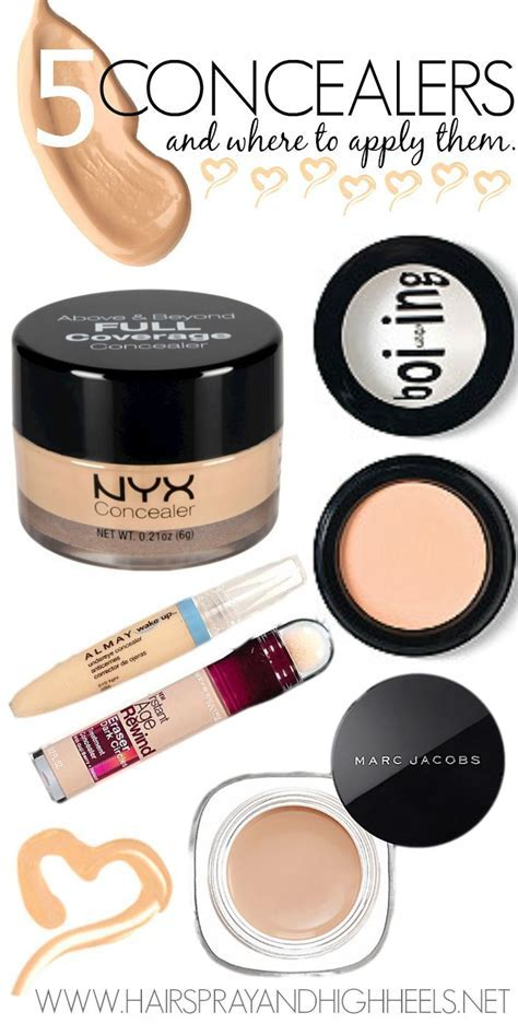 The 5 Best Concealers! Pin now, read later! If you need