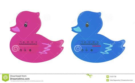 duck bathtub for babies duck bath thermometer royalty free stock photos image 21501738