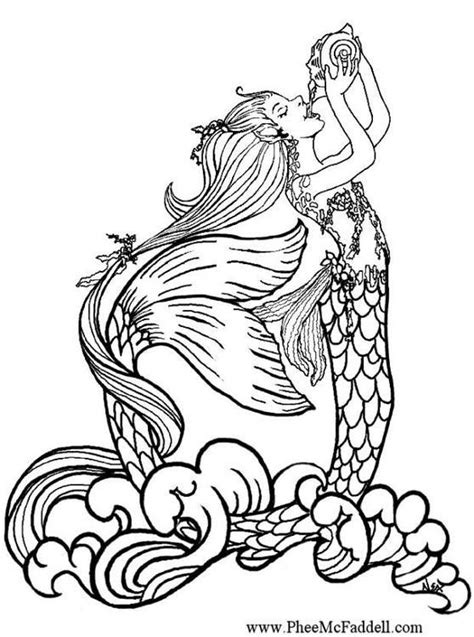 mermaids are salty b ches a coloring book for juvenile adults books dibujo para colorear sirena 01