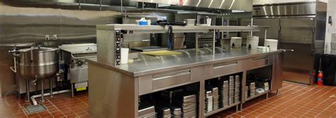 commercial kitchen designers working on commercial kitchen design