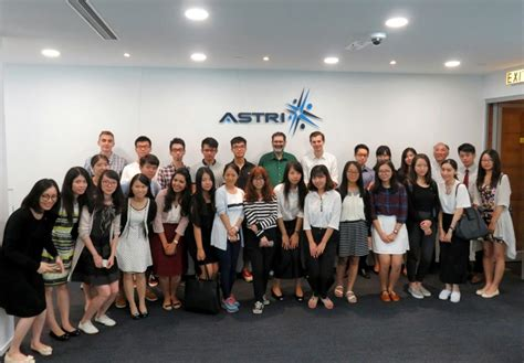 Hkust Mba Indian Students by Master Students From Hkust Business School Visit Astri
