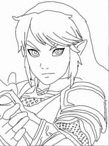 link coloring page legend of link coloring page