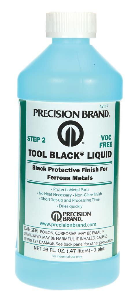 precision brand tool black tool black 174 liquid 1 pint bottle pack of 6 precision