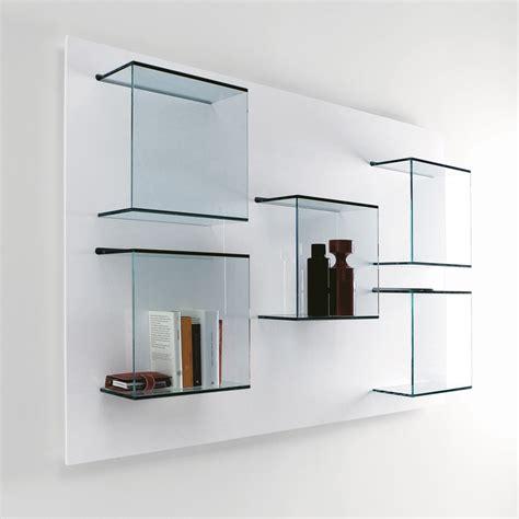 glass wall shelves for living room tonelli dazibao glass wall unit tonelli design