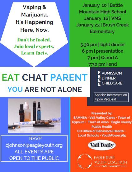 Eat Chat eat chat parent