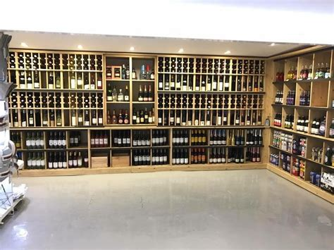 Wine Display Racks Retail by A Look At Our New Wine Shop Display Wine Racks At Constantine Bay Stores