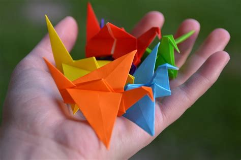 Paper Folding Activities In Mathematics - origami mathematics in creasing