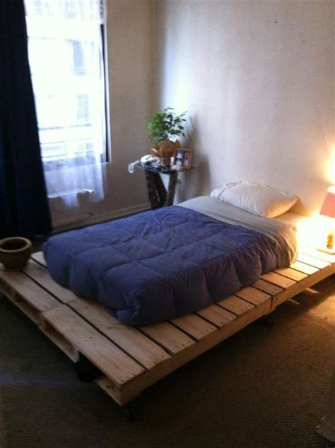 diy  pallet bed frame ideas  pallets