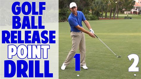 ballard golf swing 1 2 golf swing release point drill golf ball in front