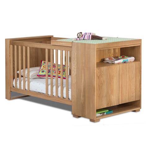 Babybett Design by Bosnanova Design Babybett Wickelkommode Kombi Smart