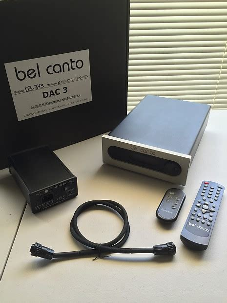 Bel Remote bel canto dac 3 vb lns 1 battery supply w reverb
