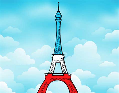 Dessin De La Tour Eiffel Colorie Par Membre Non Inscrit Le Dessin La Tour Eiffel A Imprimer