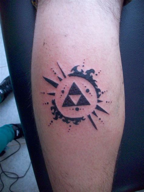 zelda tattoo gallery for triforce