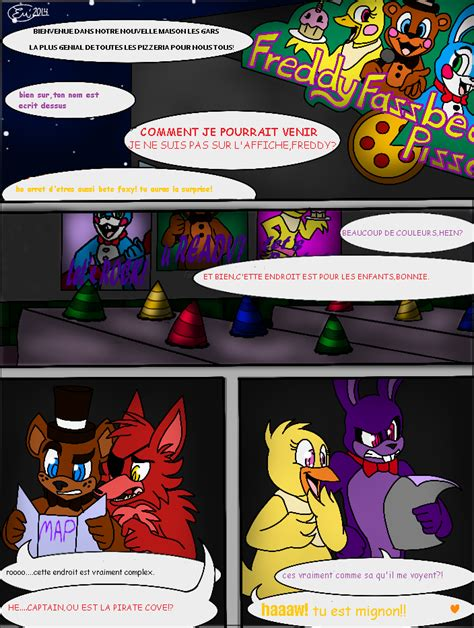 yogtale additions 1 by thegravynator on deviantart fnaf comic page 1 traduit fr by twisty200 on deviantart