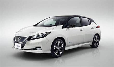 nissan leaf electric range nissan leaf 2018 new electric car range specs pictures