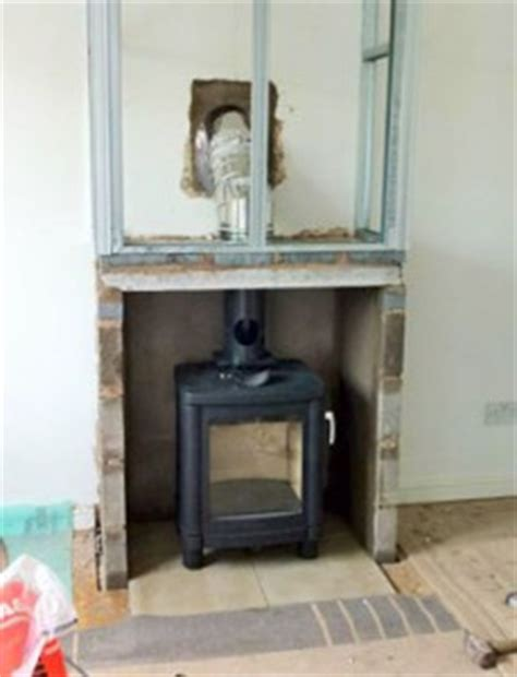 Chimney Installation In Kitchen by Installing Wood Burning Stove Commercial Kitchen Carfilecloud