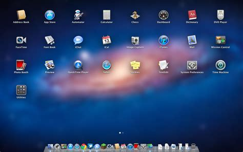 launchpad and screen apps back to the mac os x 10