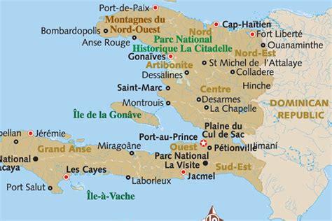 haiti map of cities haiti
