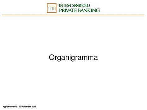 organigramma intesa intesa pb organigramma by blue financial communication