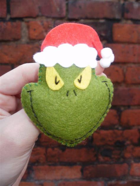 felt grinch pattern felt grinch to hide in the christmas tree sl 246 jd