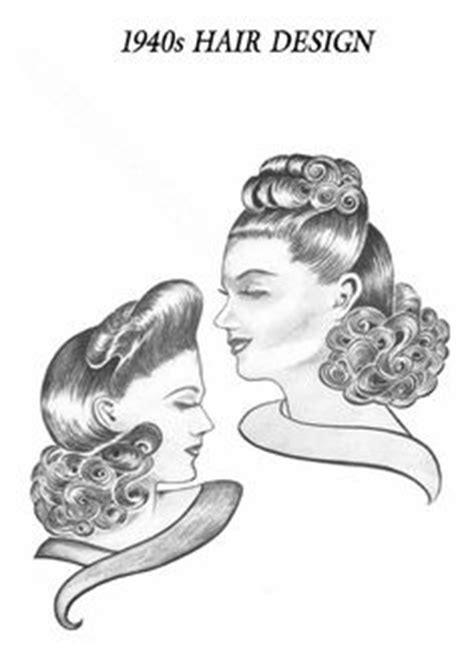 1940s hairstyles book pdf 1000 images about hair styling on pinterest avant garde