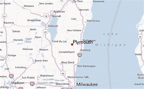 plymouth wisconsin location guide