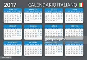 Calendario Romano 2017 Italian Calendar 2017 Calendario Italiano 2017 Vector