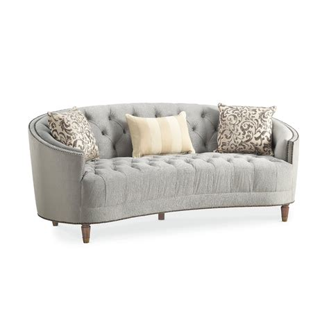 Curved Back Loveseat Sofa Infosofa Co Curved Sofas And Loveseats
