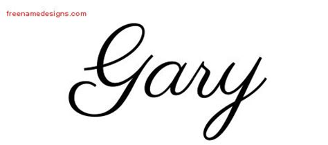 tattoo name gary gary archives free name designs