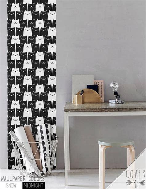pattern removable vinyl 17 best ideas about cat pattern wallpaper on pinterest